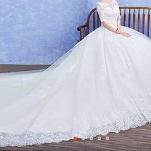 Gorgeous ceremony wedding gown